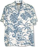 Delicate Tropical mens rayon shirt