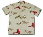Small size Fighter Airplanes WWI Men's aloha shirt