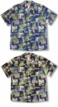 Hawaii Nation Icons Men's cotton RJC aloha Shirt