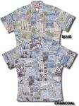Hawaiian Lifestyle Men's Reverse Shirt Large & XL