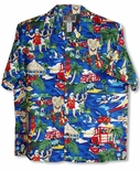 Santa More Beach Fun Men's Shirt
