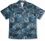 Turtle Hawaiian Heritage Men's Shirt