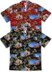 Men's 5X Hawaiian Yesterdays Cotton Aloha Shirt