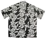 White Orchid Panel Men's Vintage Kamehameha