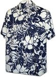 Modern Floral Dispaly Men's Shirt
