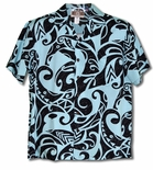 Modern Polynesian Tradition Tattoo Aloha Shirt