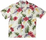 Monstera aloha shirt by Two Palms