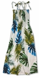 Monstera Fern Smocked Sundress