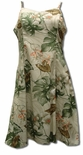 Monstera Orchid women's empire princess dress