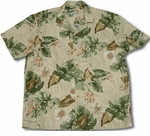 Monstera Orchid men's paradise found shirt