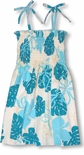 CLOSEOUT Monstera Season Girl's Tube Top Sundress