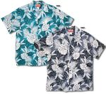 Monstera Tribal Men's RJC Cotton aloha shirt