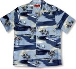 CLOSEOUT Moon Over Maui Island men's shirt