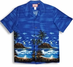 Moonlight Surf Men's Shirt