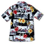 Motorcycle Hibiscus Men's Shirt