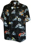 Motorcycles Choppers in Paradise Men's Shirt