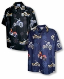 Motorcycles in Paradise Men's Shirt