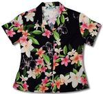 Nadina Womens Fitted Blouse