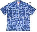Native Polynesian Art cotton aloha shirt