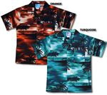 Night Time Surf Boy's Cotton Hawaiian style aloha shirt