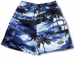 Night Time Surf men's & boy's cargo shorts