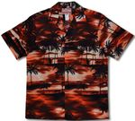 Night Time Surf Men's Hawaiian Shirt