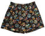 No Ka Oi Bamboo Boxer Cotton Shorts