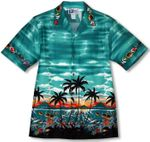 Ocean Below Men's Aloha Shirt