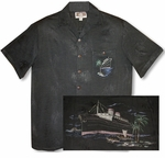 Ocean Liner Men's Embroidered Shirt