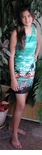 Ocean's Below Women's Shannon Marie Label 100% Cotton Short Tank Hawaiian Style  A-Frame Dress