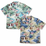 Ocean Surf Sandy Beach Men's Shirt