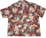 Old Plumeria Hawaiian Shirt
