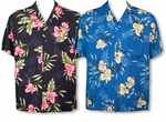 Orchid Fern men's Hawaiian shirt