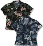 CLOSEOUT Orchid Island Junior Girls Fitted Blouse