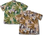 Orchid Jungle men's Paradise Found Hawaiian aloha shirt
