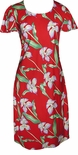 CLOSEOUT Orchid Panel A Line Cap Sleeve Dress