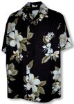 Orchid White Flower Zepher Men's Shirt