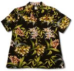 CLOSEOUT Orchidaceae Orchid Womens Shirt