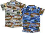 Pacific Island Defenders Boy's 2pc Set