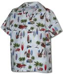 Woodie Surfboard Outing boy's shirt