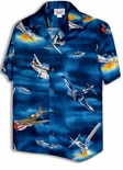World War II Airplanes Men's Cotton