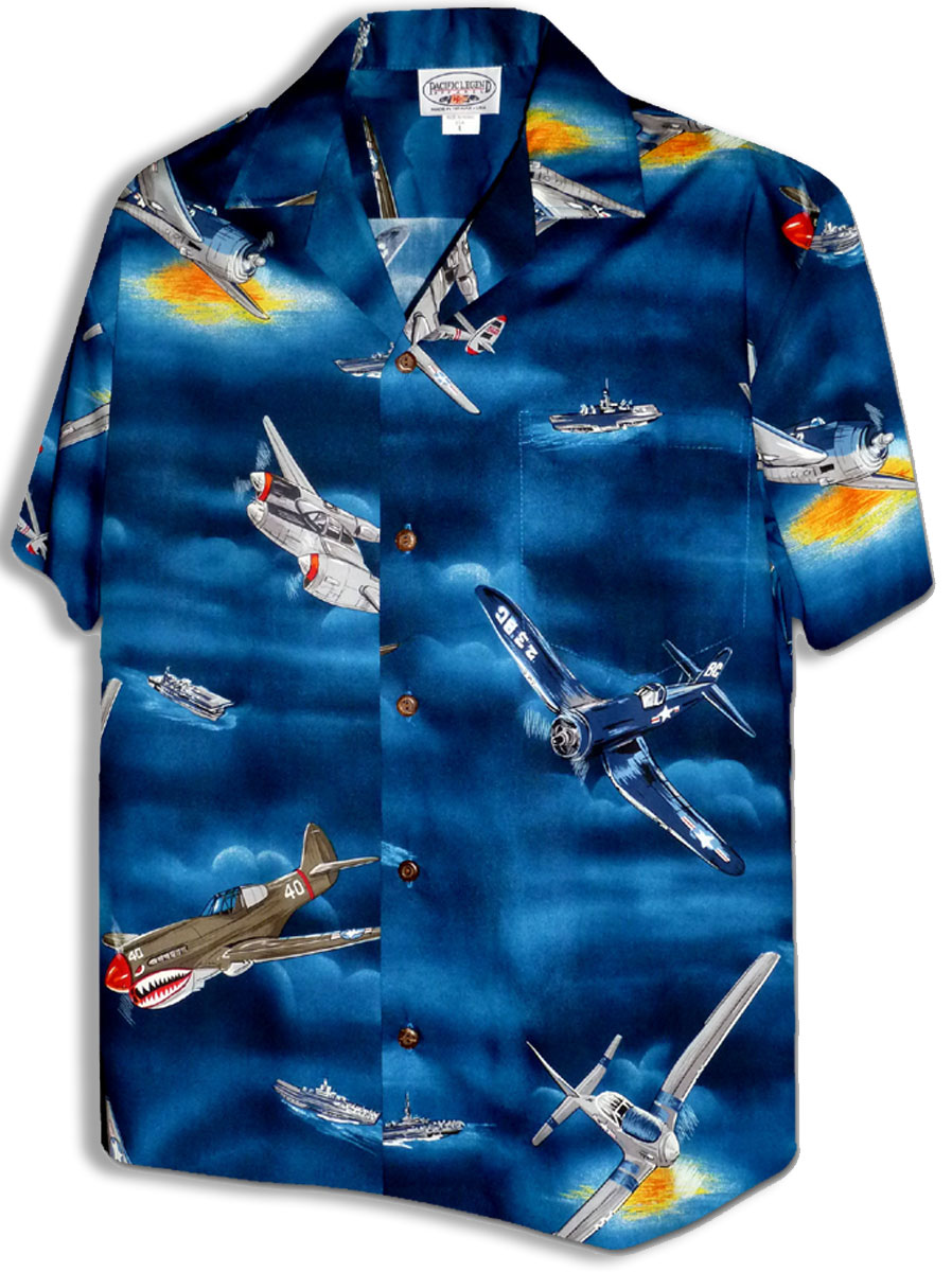 46ee1bf49d1936 World War II Airplanes Men's Cotton
