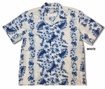 Pacific (Hibiscus) Panel men's Hawaiian shirt
