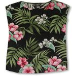 Pale Hibiscus Orchid Womens Pullover Blouse