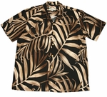 Palm Fronds Mens Rayon Shirt