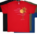 Palm Sun Cotton T-Shirt
