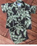 Palm Trees Black Boys 2 Piece Set