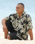Palm Trees Men's Rayon Shirt