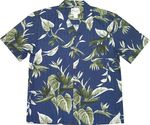Paradise Found Bird of Paradise Cotton Aloha Shirt
