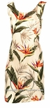 Bird of Paradise Junior Petite Short Tank Dress